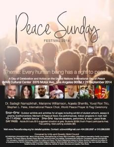 PeaceSundayFestival2014
